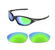 NEW POLARIZED CUSTOM GREEN LENS FOR OAKLEY XX OLD TWENTY SUNGLASSES